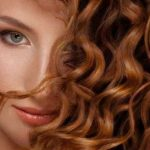 curly hair styling